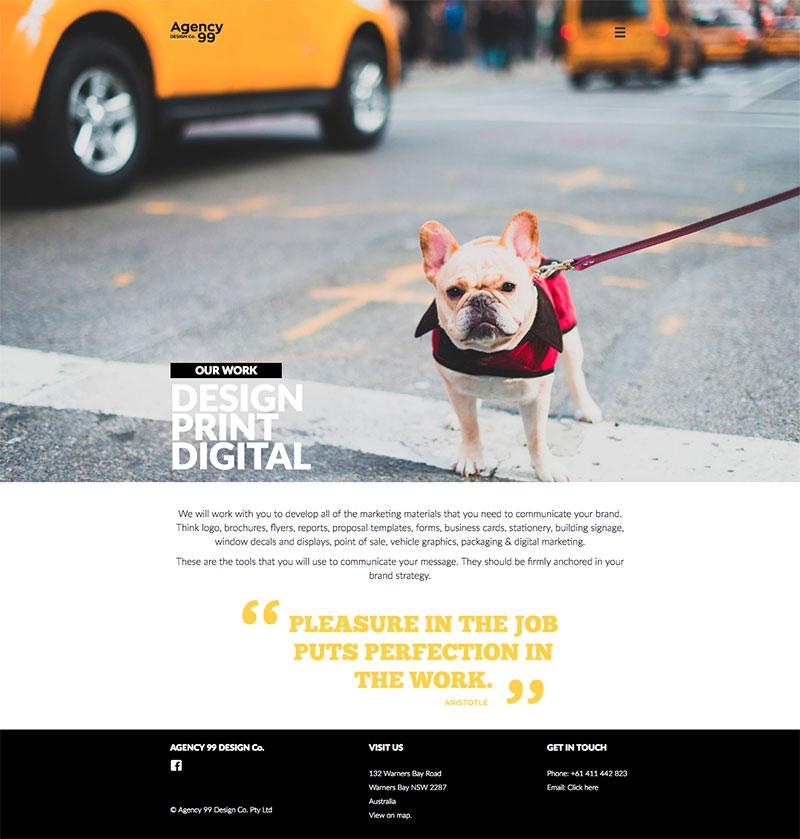 Agency 99 Design - WordPress