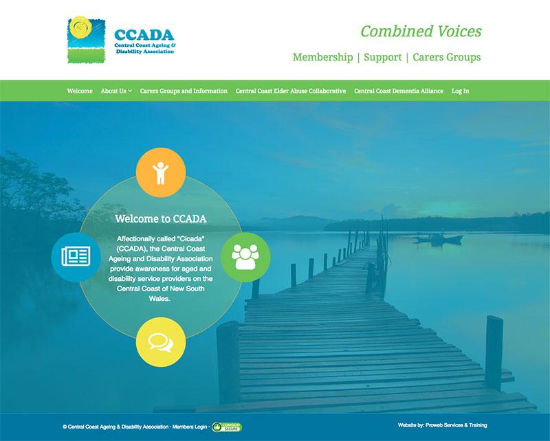 CCADA Central Coast - WordPress