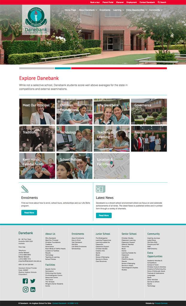 Danebank School for Girls - WordPress