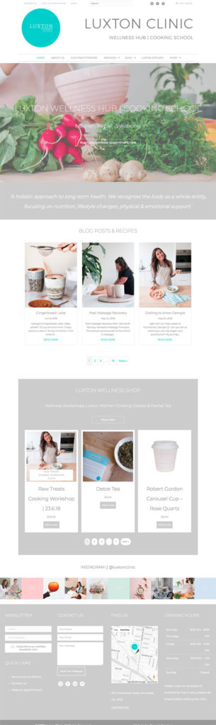 Luxton Clinic Melbourne - WordPress