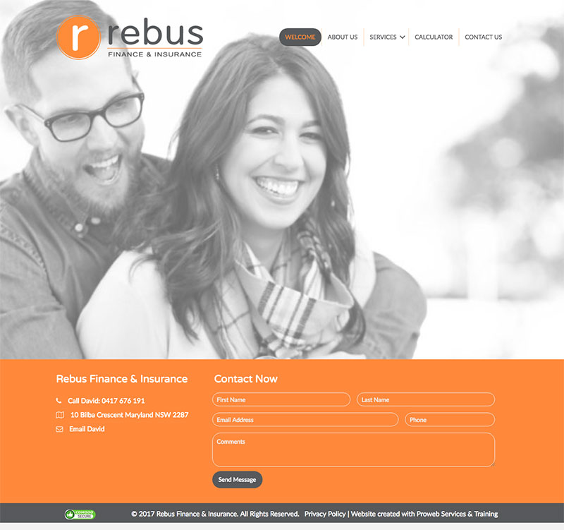 Rebus Finance - WordPress